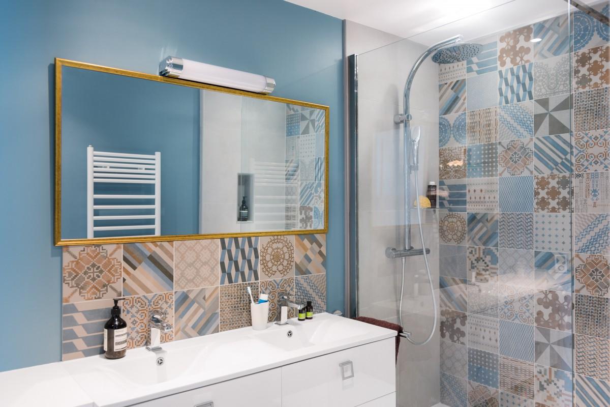 D coration appartement 70 m2 paris marion alberge for Miroir design tunisie