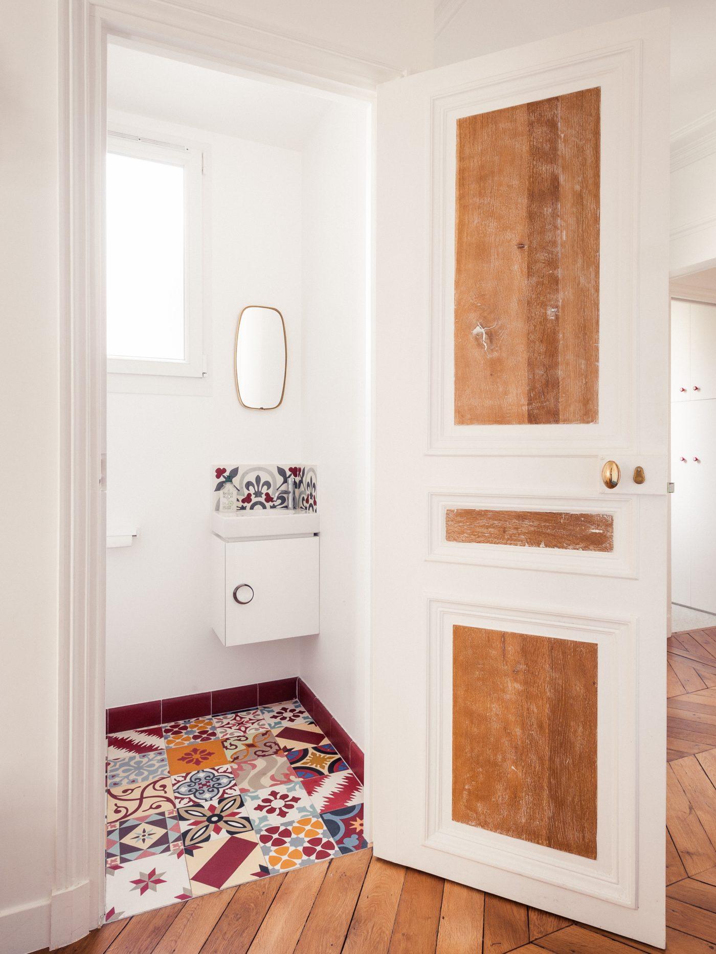 d coration et r novation d 39 un appartement haussmannien de 180m2. Black Bedroom Furniture Sets. Home Design Ideas