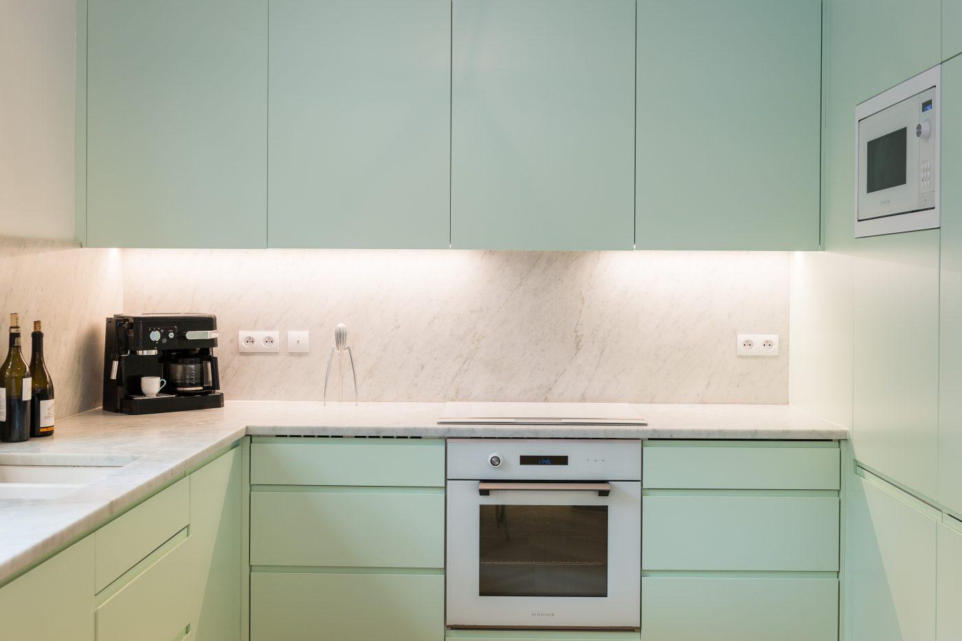 Cuisine - Décoration paris appartement - Marion Alberge