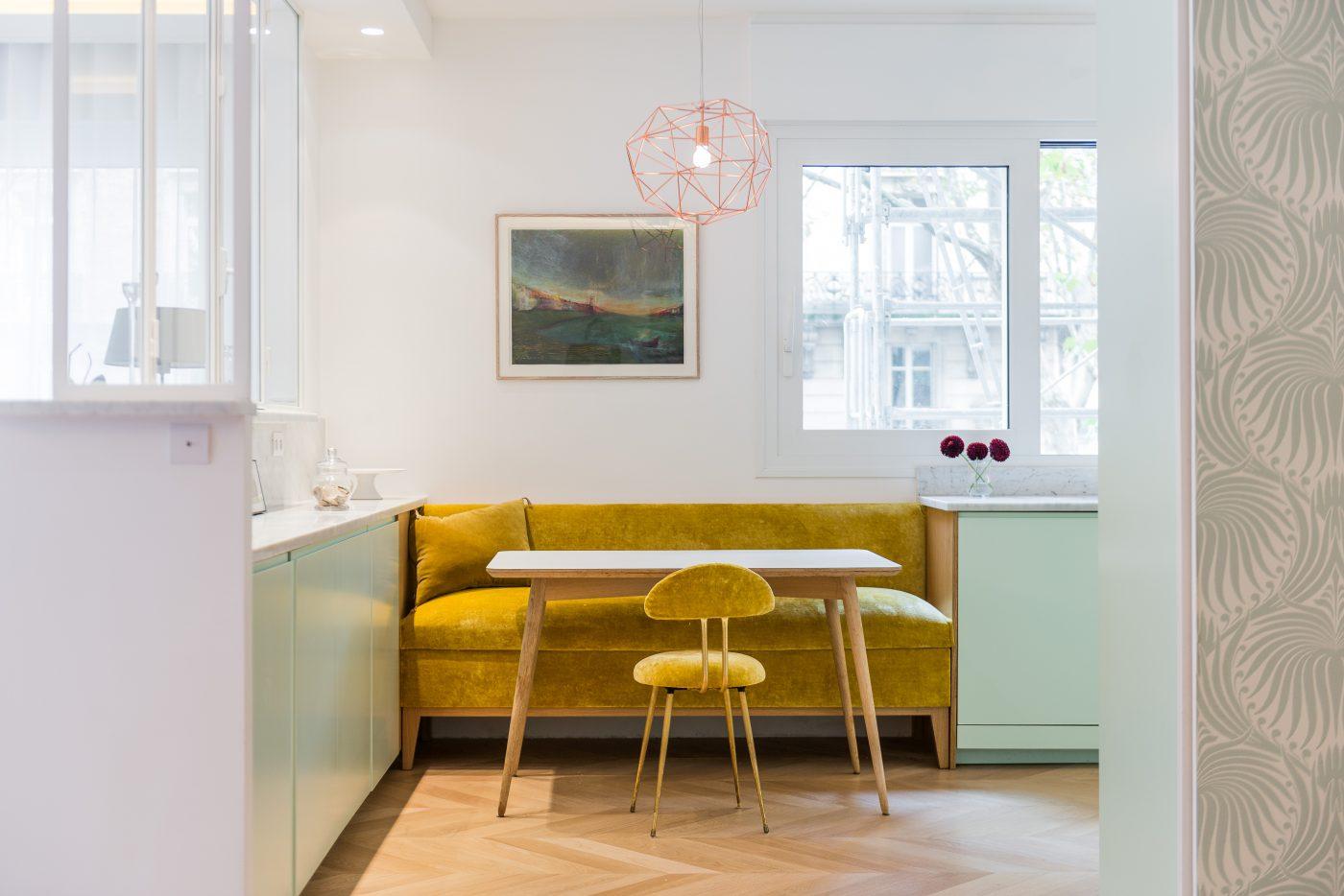 Décoration paris appartement - Marion Alberge